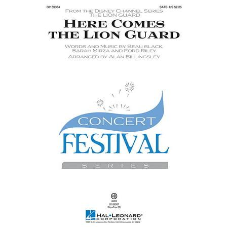 Hal Leonard Here Comes the Lion Guard SATB by Beau Black arranged by Alan (Beau Black Here Comes The Lion Guard)