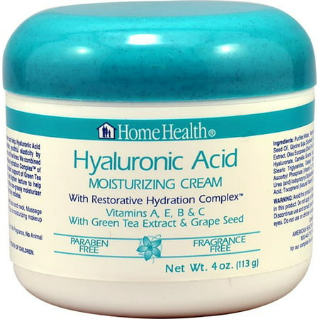 Home Health Hyaluronic Acid Moisturizing Cream 4 Oz