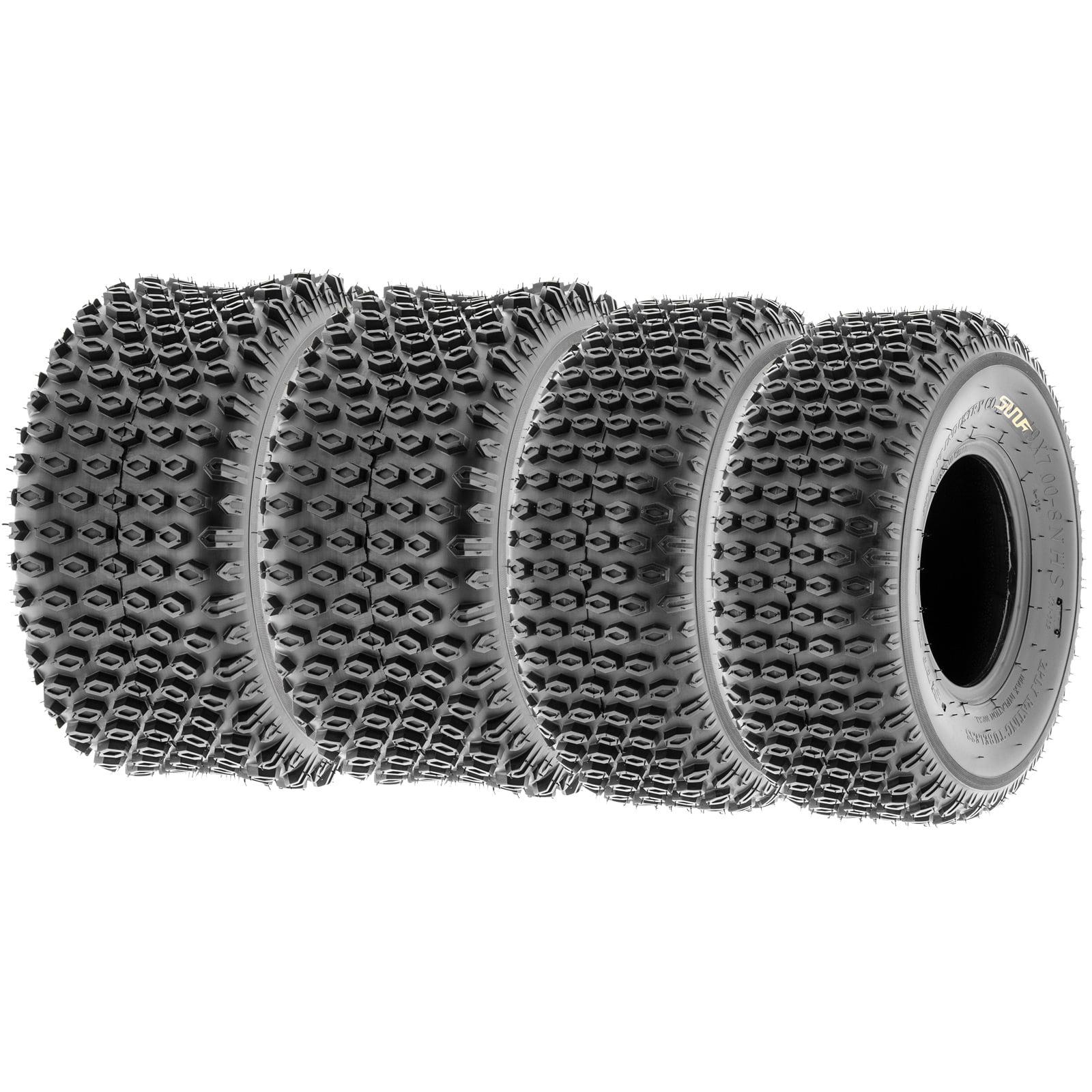 SunF Quad ATV Sport Tires 19x7-8 & 18x9.5-8 4 PR A012 (Fu...