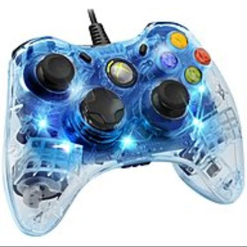 PDP PL3702-BLUE Afterglow Wired Controller for Xbox 360 - Blue (Refurbished)