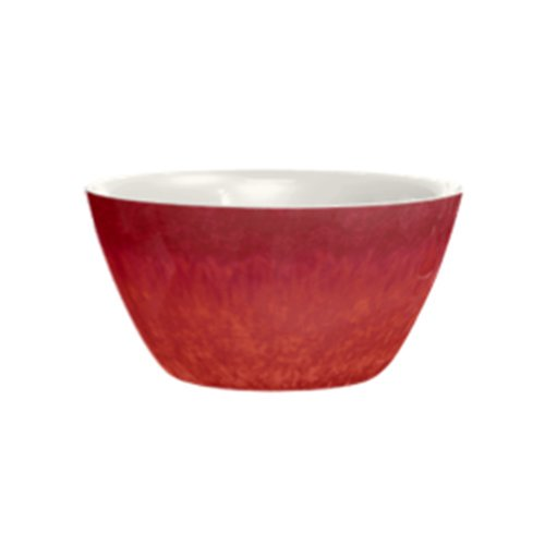 "Better Homes And Gardens 3.9"" Melamine Bowl, Reactive Red"