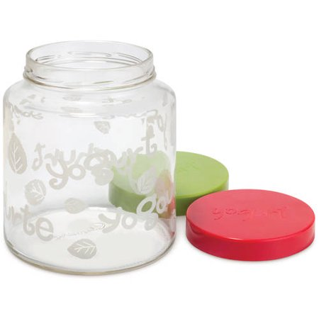 Euro Cuisine 2 qt Glass Jars for Models YM260, YM360, YM460
