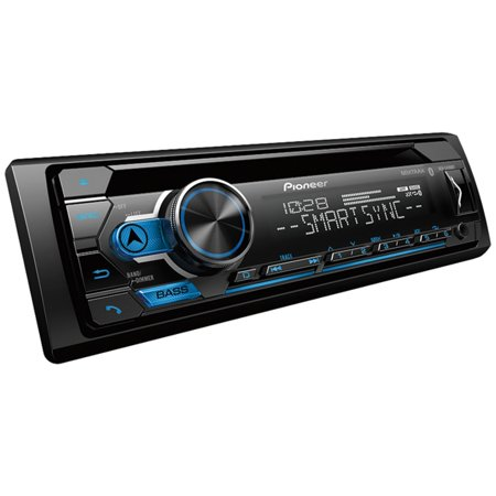 (Pioneer DEH-S4100BT Single-DIN In-Dash CD Player with Bluetooth)
