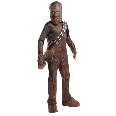 Boys Chewbacca Star Wars Halloween Costume Wookie - Wookie Halloween Costume