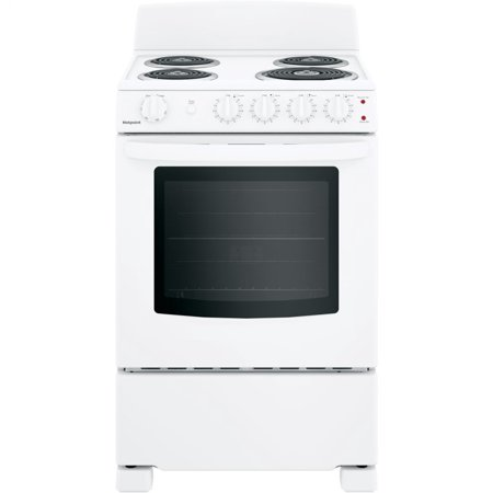 Hotpoint RAS240DMWW 24 Inch Electric Freestanding Range White