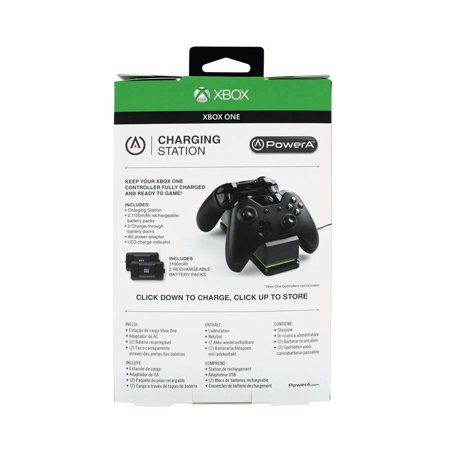 PowerA Charging Station for Xbox One -Black