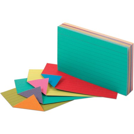- (2 Pack) Oxford, OXF04736, Extreme Index Cards, 100 / Pack