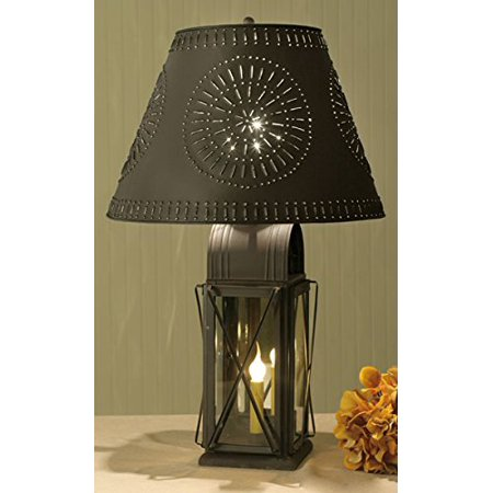 Large Milk House 4-Way Lamp with Willow Shade - Rustic (Best Way To Ship Large Items)