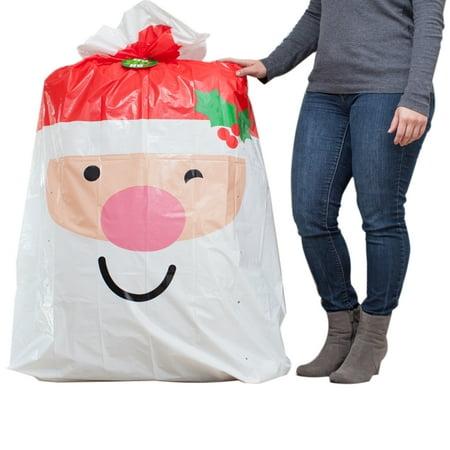 Hallmark Jumbo Christmas Gift Bag (Santa) ()