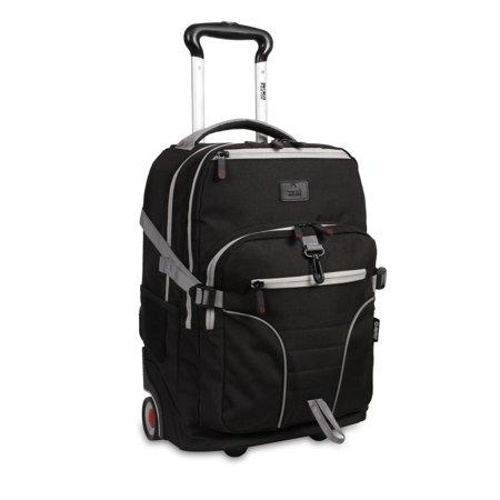 J World Lunar Laptop Rolling Backpack (J World Sunburst 20 Rolling Laptop Backpack)