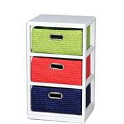 Entrada EN110681 Wooden Cabinet 3Drawer