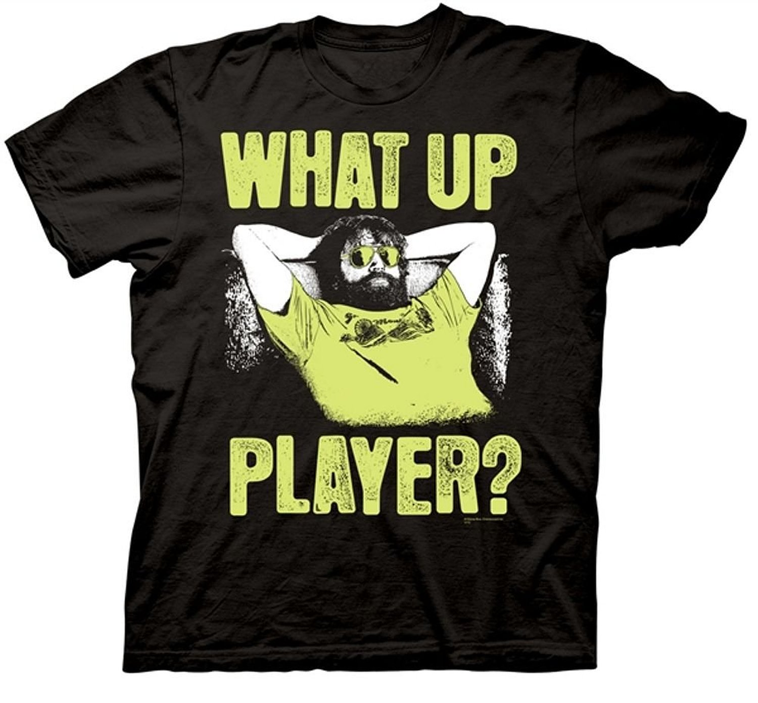 The Hangover Part III Men's What Up Player T-Shirt