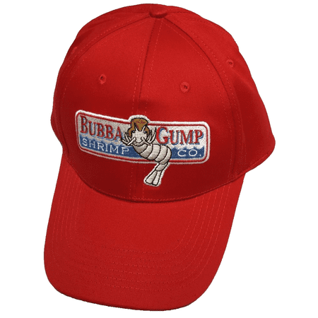 Bubba Gump Shrimp Adult Baseball Cap Company Running Jog Hat Forrest - Hot Cat Costume