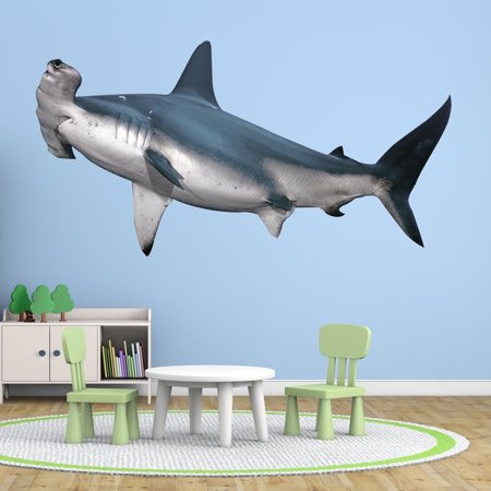 VWAQ Hammerhead Shark Wall Decal Realistic Shark Stickers Peel And Stick Mural VWAQ-PAS7 (13