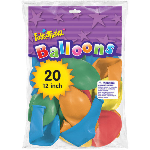 Pioneer 12'' Funsational Balloon  (Set of 20)