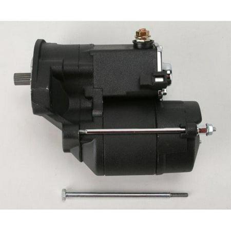 Drag Specialties 80-1001 High-Performance Starter Motor - 1.4kW - Black