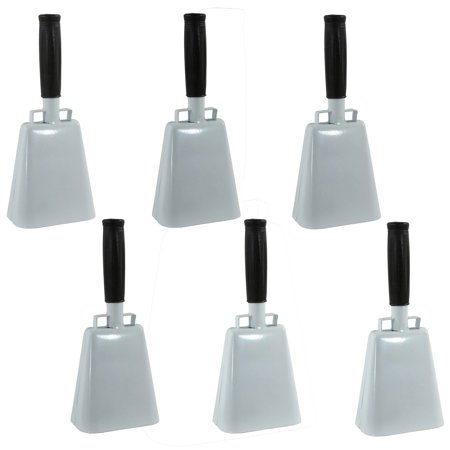 Blue Cow Bells (Buffalo Tools Customizable 6-Piece 10 Inch Cow Bell)