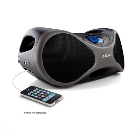 Image of Akai CD BoomBox FM Radio