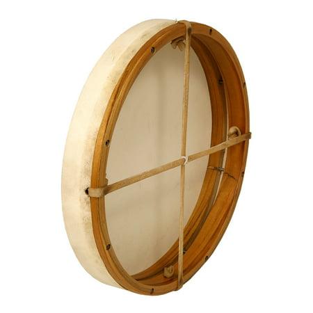dobani tunable goatskin head wooden frame drum w beater 14 x2. Black Bedroom Furniture Sets. Home Design Ideas