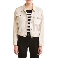 Deals on Jason Maxwell Women's Cropped Utility Jacket