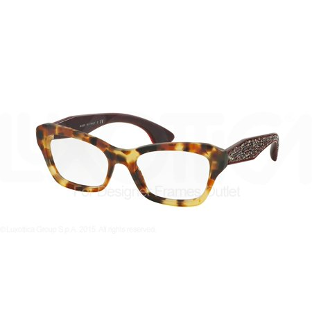 839a14f82d22 MIU MIU Eyeglasses MU 05OV UA51O1 Sand Medium Havana 53MM - Walmart.com