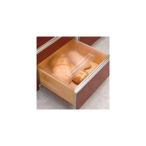 Rev A Shelf Rsbdc24. 20 20-. 13 inch X 21-. 75 inch Bread Drawer Covers - Translucent
