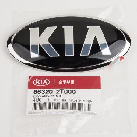 Genuine OEM 'KIA' Rear Trunk Emblem for 12-15 Optima 86320-2T000 - Oem Trunk Kit Body