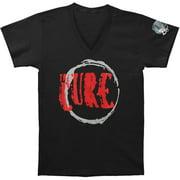Cure Men's  Circle Logo 2013 Tour Slim Fit T-shirt Black