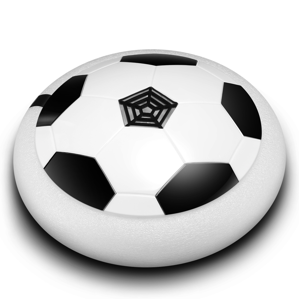 Air Power Soccer Disc LED Lights Kids Gliding Hover Football by