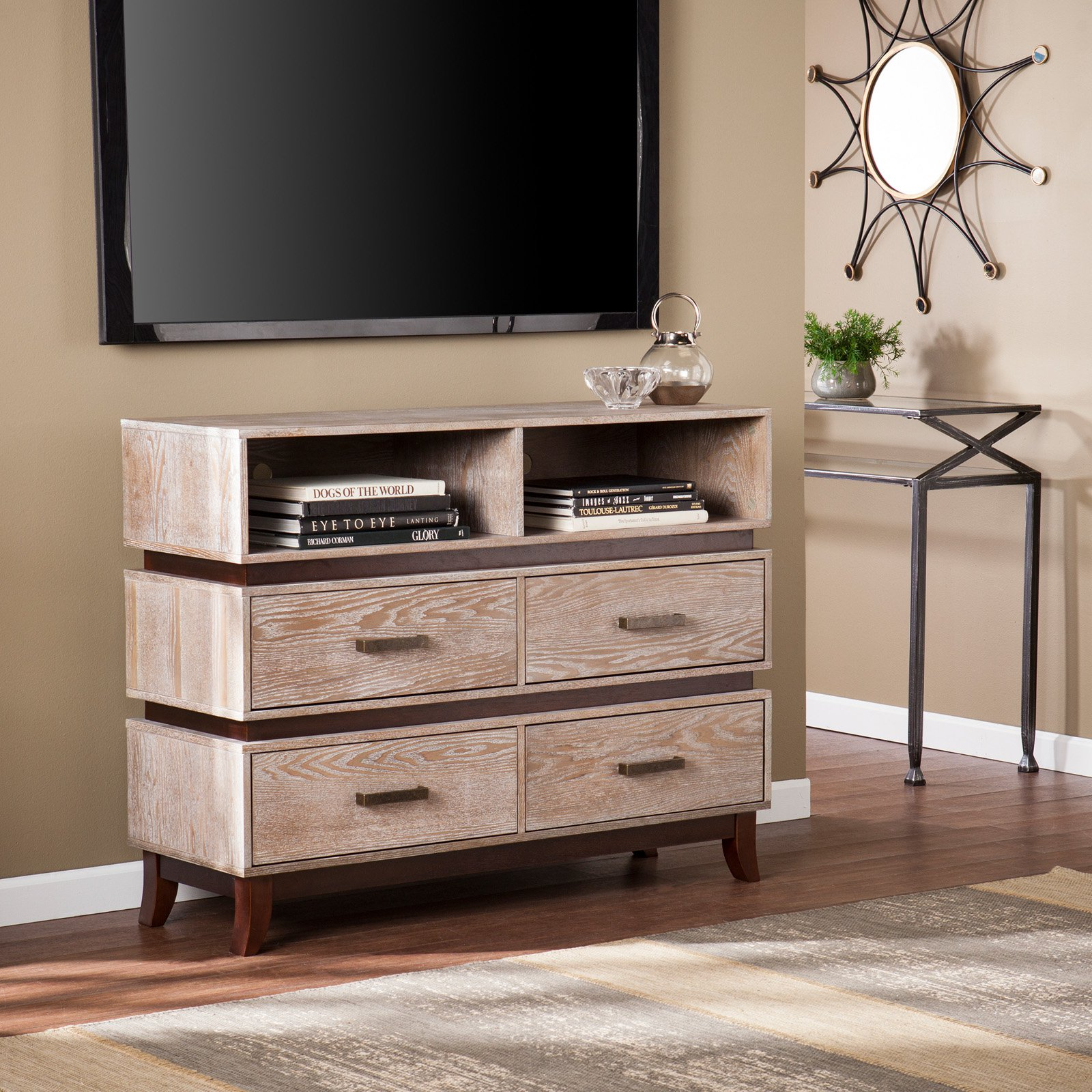 Southern Enterprises Newbury Media Console / Sideboard