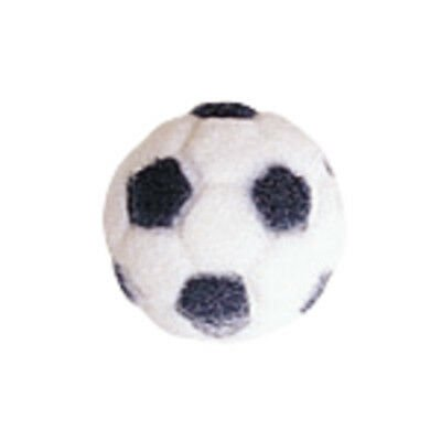 Soccer Ball Sugar Edible Decorations - 12 Count - 27773 - National Cake Supply - Halloween Cakes Decorations