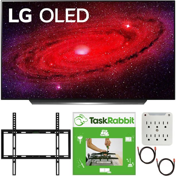 Taskrabbit Christmas Party 2020 LG OLED77CXPUA 77 inch CX 4K Smart OLED TV with AI ThinQ 2020