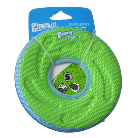 Chuckit Zipflight Amphibious Flying Ring - Assorted Small - 6 Diameter (1 Pack) - Pack of -