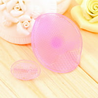 Improving The Blood Circulation Facial Cleansing Face Washing Blackhead Remover Soft Silicone Material Gel Pad Brush