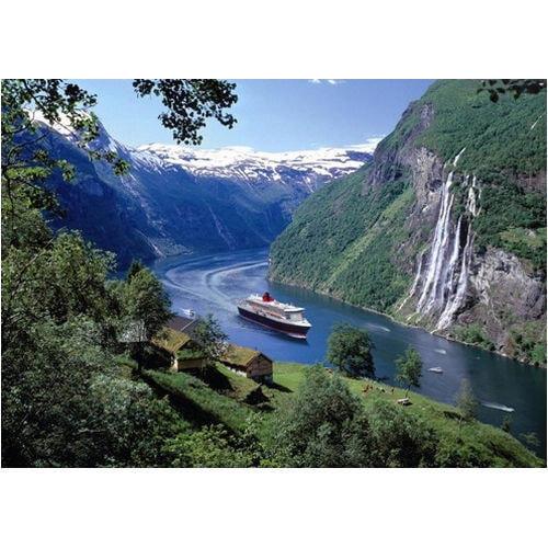 Norwegian Fjord 1000 Piece Puzzle