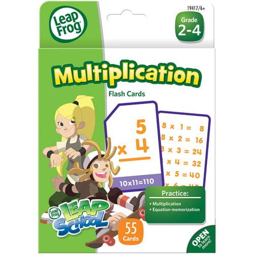 LeapFrog Multiplication Flash Cards