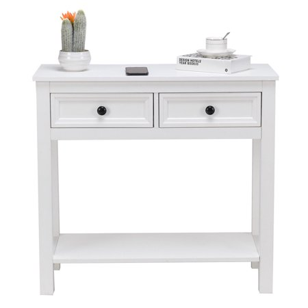 Drawer Console Table Modern Sofa