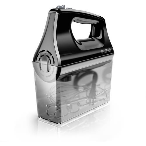 BLACKDECKER Five Speed Hand Mixer 250W Storage Case MX400B