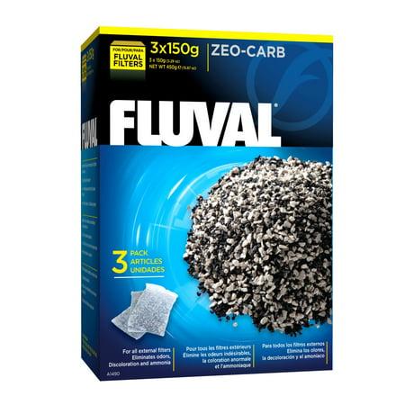 (2 Pack) Fluval Zeo-Carb, 150G (3/PK)