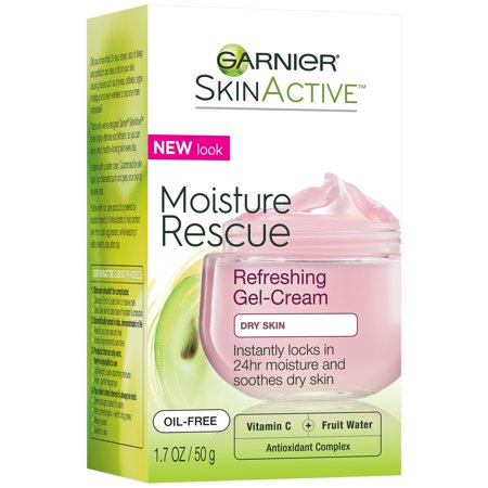 Garnier SkinActive Moisture Rescue Face Moisturizer, For Dry Skin, 1.7 (Garnier Pure Active Anti Imperfection Daily Moisturiser)
