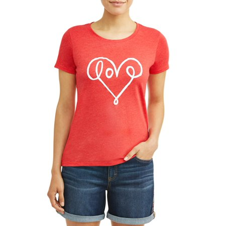 Love Scale (EV1 from Ellen Degeneres Women's Love Graffiti Crew Neck Tee)