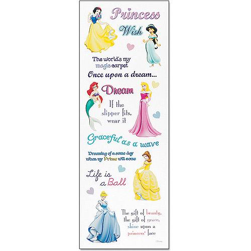 Disney Princess Stickers, Phrase