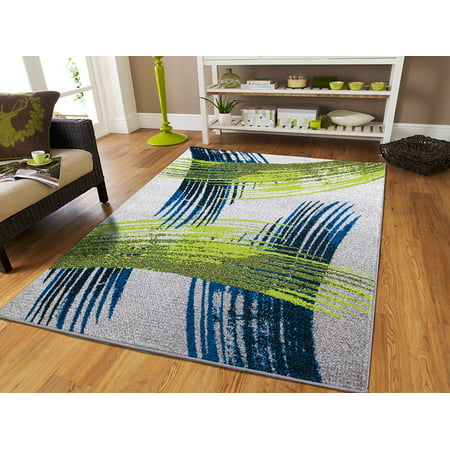Large Rugs on Clearance 8 by 10 Green Living Room Rugs 8x10 Area ...