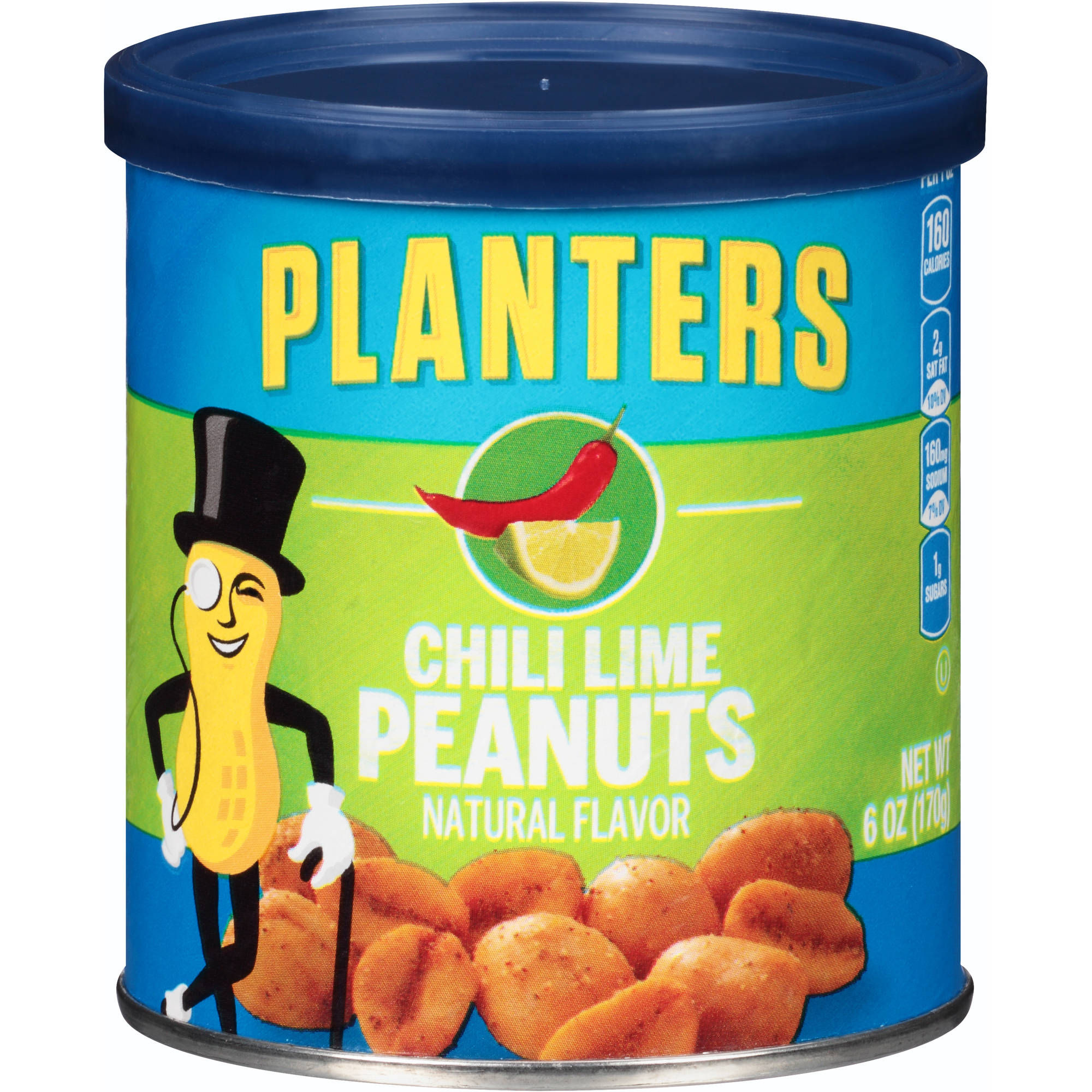 Planters Chili Lime Peanuts, 6 oz