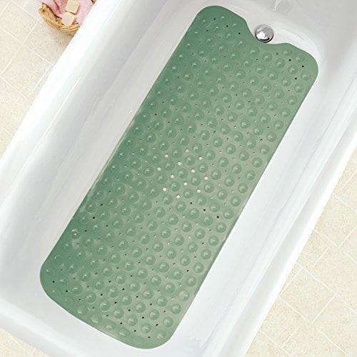Collections Etc Extra Long Cushioned Bathtub Mat Walmart Com