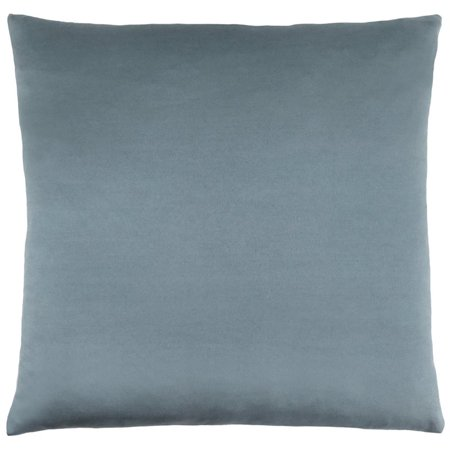 Monarch Throw Pillow in Pale Blue Satin](Blue Monarch)