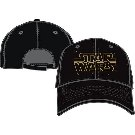 Confederate Civil War Hats - Adult Star Wars Logo Hat Black