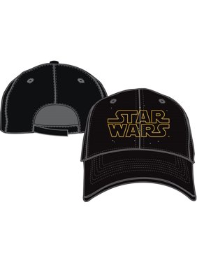 low priced f70b2 29836 Product Image Adult Star Wars Logo Hat Black