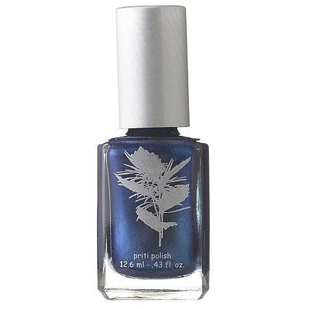 Nail Polish #633 Cornflower By Priti (Opaque metallic blue) ()
