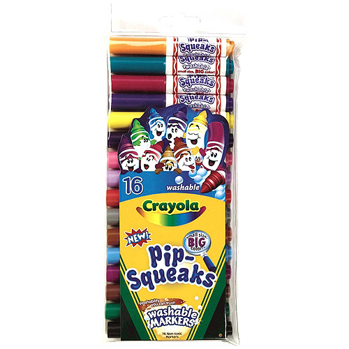 Crayola Pip-Squeaks Markers, 16pk